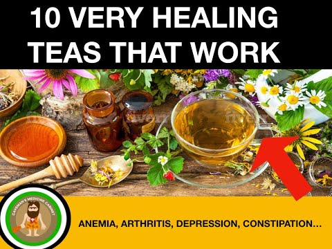 10 Herbal Tea Remedies/Herbal Remedies/Health Tips