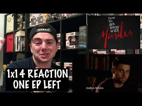 HOW TO GET AWAY WITH MURDER - 1x14 'THE NIGHT LILA DIED' REACTION