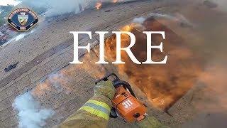 Structure Fire Victorville, CA Helmet Cam