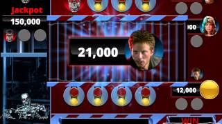 THE TERMINATOR Video Slot Game with a CRUSHER BONUS