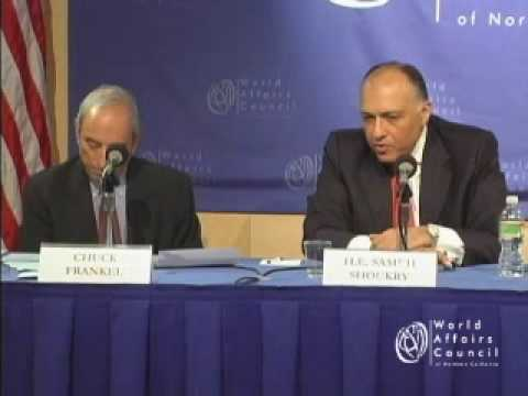 Sameh Shoukry on US-Egyptian Relations and Recent Developments in the Middle East In Brief