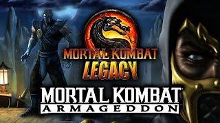 64 CHARACTERS?!: Mortal Kombat Armageddon 2006 (MK Legacy Part 7)