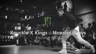 Knuckle X Kings vs Monster [finals] // .stance // ROYALTY 2017 x udeftour.org