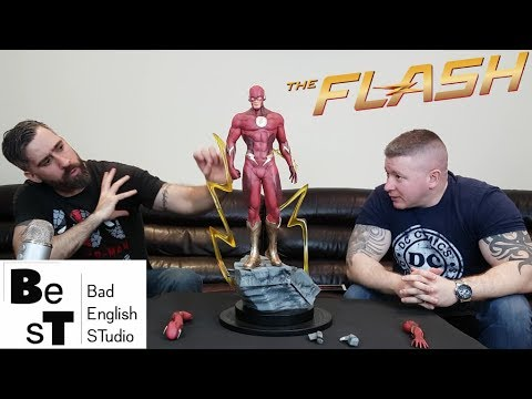 Flash Custom statue by B A D English Studios Review