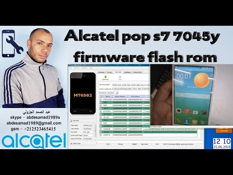 Alcatel pop s7 7045y firmware flash rom