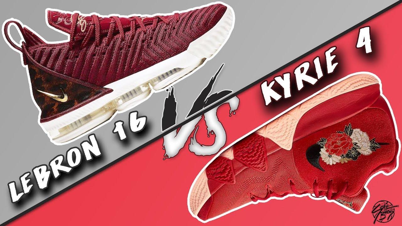 ac0b3db8be35 Nike Lebron 16 vs Kyrie 4! - YouTube