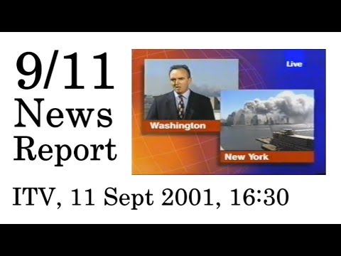 9/11 News Report—ITV1 (11 September 2001, 1630-1657)