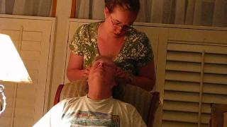 go to sleep head massage soft spoken asmr