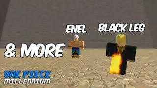 NEW UPDATE! BLACK LEG! NEW BOSS & MORE! - ROBLOX ONE PIECE MILLENNIUM