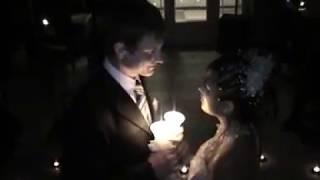 Наш сказочный свадебный танец, сердце из свечек и мы, стих мой))) 12 января 2008