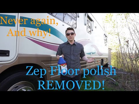 Zep floor polish REMOVED! Why I will NOT use Zep again!
