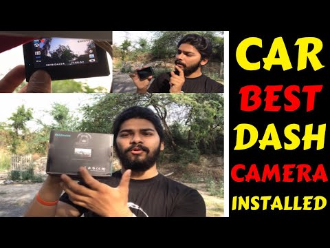 MY CAR NEW DASH CAMERA INSTALLED | BEST DASH CAM | ALFAWISE G70 | GEARBEST | Rahul Singh