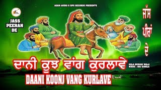 vuclip ਦਾਨੀ ਕੂੰਜ ਵਾਂਗ ਕੁਰਲਾਵੇ  Dani Koonj Vang kurlave   peer nigahe Jass   Kala Burjan wala / AUDIO SONG