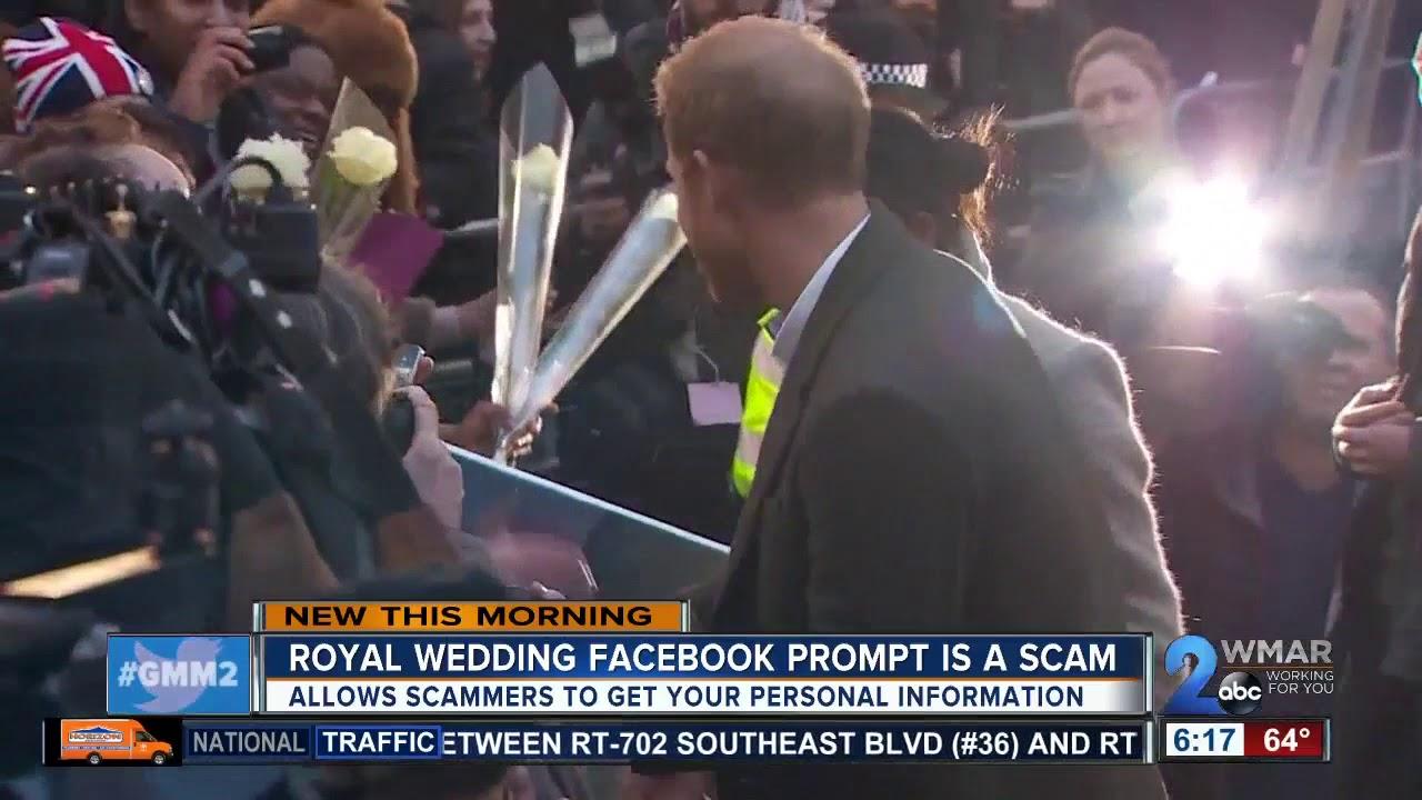 Royal wedding Facebook quiz could put you at risk