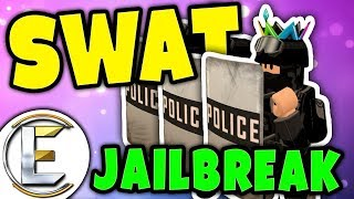 SWAT STOPS THE BIGGEST BANK ROBBERY in ROBLOX | Swat Rollenspiel - Roblox Jailbreak ( lustige Momente )