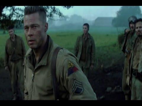 Brad Pitt extermina nazis en 'Corazones de acero'