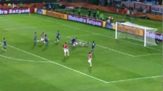 「パラグアイ 0(5PK3)0 日本」 決勝Tハイライト 2010