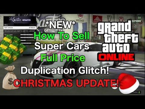 GTA 5 Online - Sell Super Cars Full Price! NEW Money Glitch