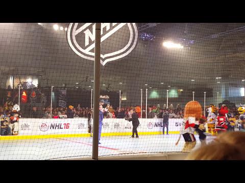 2016 NHL Mascot Introductions - 2016 NHL All Stars - Nashville, TN