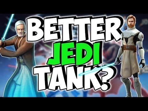 Old Ben vs General Kenobi: Who is the Best Jedi Tank? | Star Wars: Galaxy of Heroes