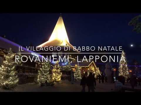 Casa Di Babbo Natale Al Polo Nord.Villaggio Di Babbo Natale Santa Claus Village Rovaniemi