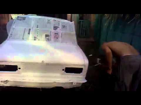 Как покрасить автомобиль своими руками пошаговое 20