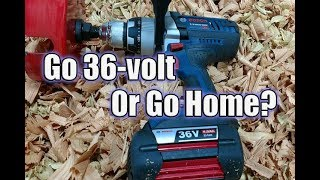 "Bosch HDH361 36V Brute Tough 1/2"" Drill vs Dewalt 20V vs Milwaukee 18V"