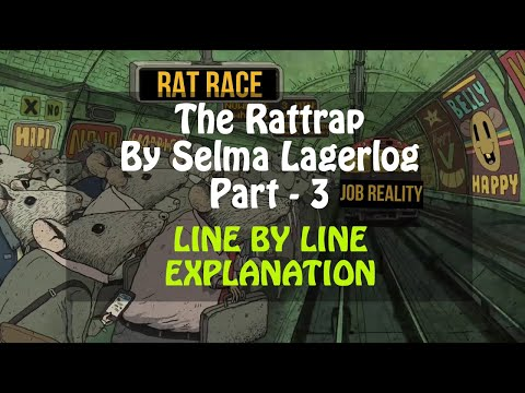 The Rattrap (Line by Line) Part - 3 by Selma Lagerlof in