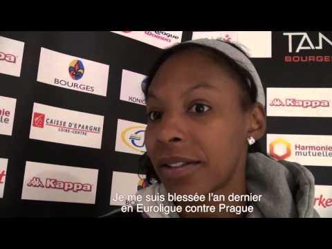 """Shay Murphy, recrue du Tango Bourges Basket, est """"prête"""""""