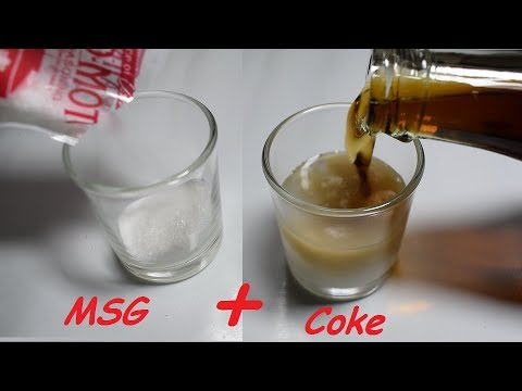 Coke + MSG (Ajinomoto Umami) | Science Experiment