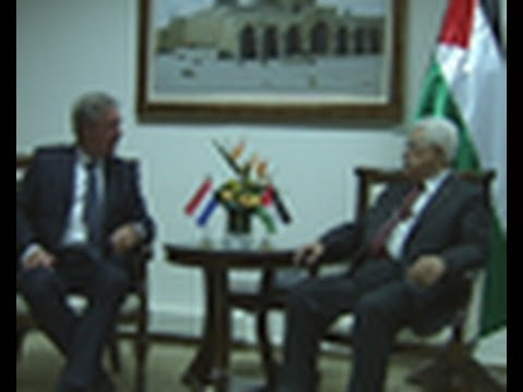 President Abbas Receives Luxembourg's MinisterForForeign Affairs Jean Asselborn