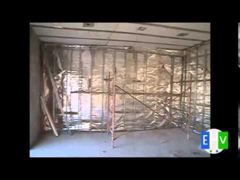 Aislante termico thermabar colocacion en paredes youtube - Aislamiento termico paredes ...