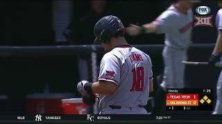 Texas Tech vs Oklahoma State Baseball Highlights - May 19