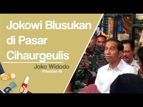 Pedagang Pasar Cihaurgeulis Heboh saat Jokowi Lakukan Blusukan Mp3