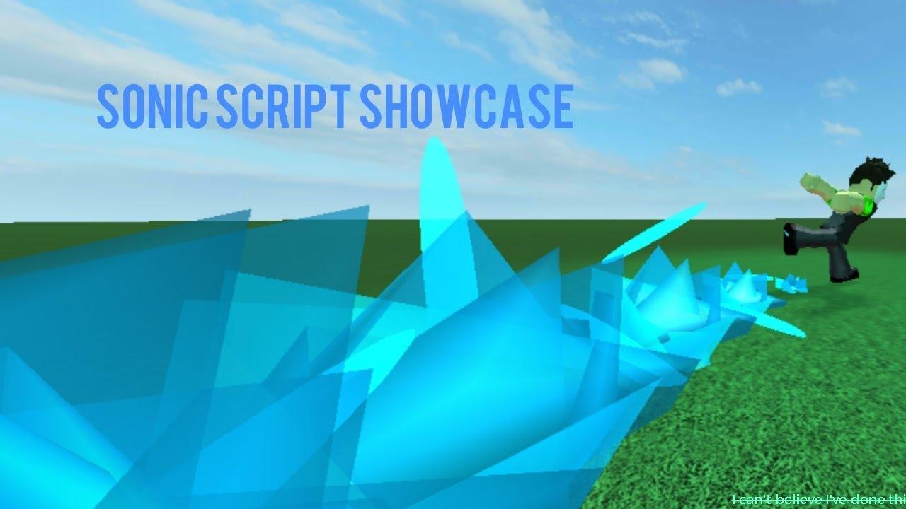 Sonic Script Showcase Roblox Void Script Builder Youtube