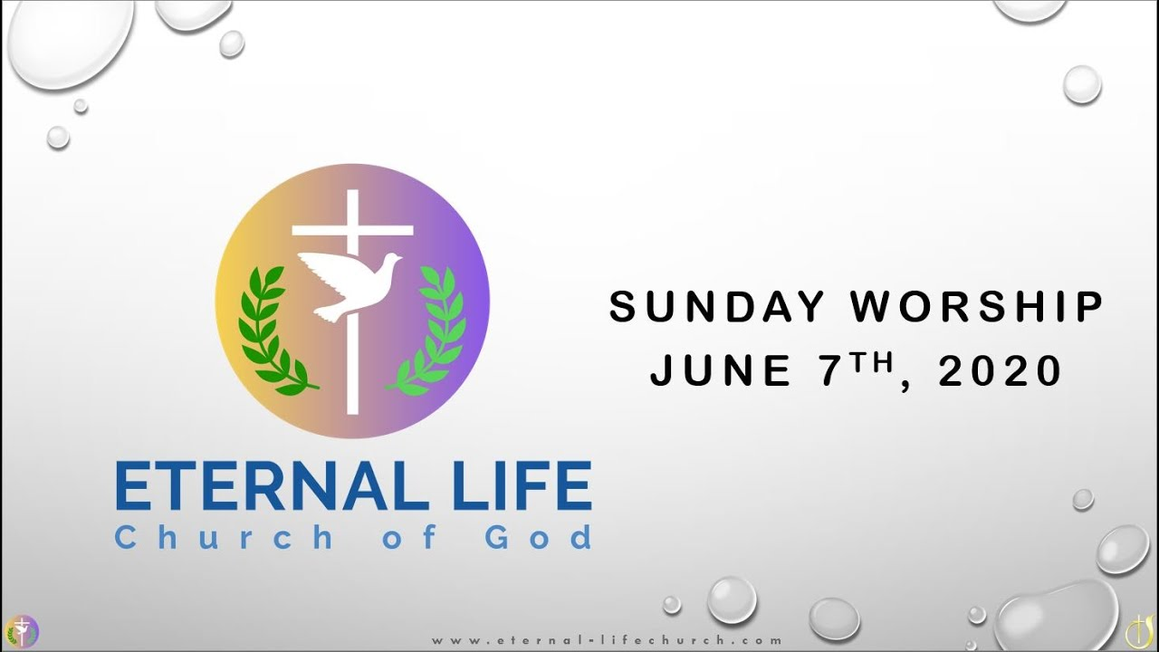 Sunday Worship -06/07/2020