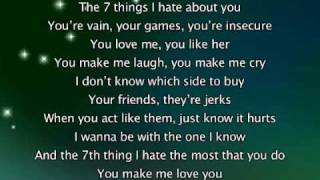 Miley Cyrus - 7 Things, s In