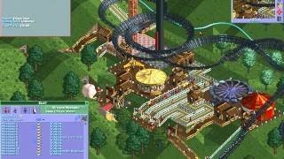 Rollercoaster Tycoon Loopy Landscapes #92 (Dragon