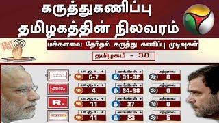 தேர்தலுக்கு பிந்தைய கருத்துகணிப்பு: தமிழகத்தின் நிலவரம் | Exit Poll | DMK | ADMK
