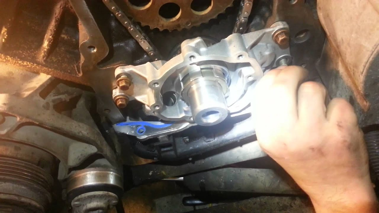 Vortec oil pump installed youtube for Motor oil for chevy tahoe