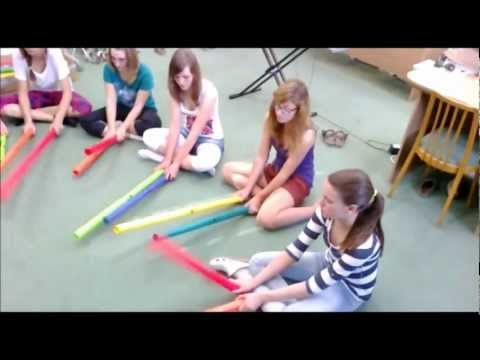 Somebody that I used to know - boomwhackers i.wmv