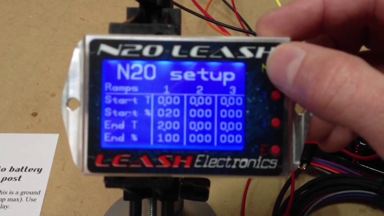 An Motorcycle Wiring Diagram N2o Leash Video Instructions 1 Youtube