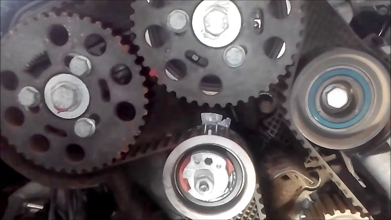medium resolution of audi a6 2 0tdi how to change timing belt and coolant pump