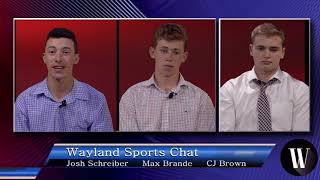 WSPN Wayland Sports Chat  Episode 2