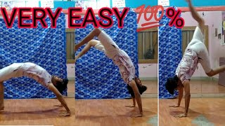 How to front walkover in Hindi
