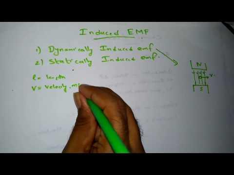Induced Emf - Statically and Dynamically Induced Emf KTU BEE