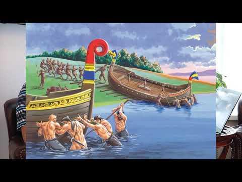 """Загадки """"пути из Варяг в Греки"""". С какой скоростью передвигались на Руси? Аверьянов Константин"""