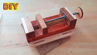 DIY: Drill Press Vise