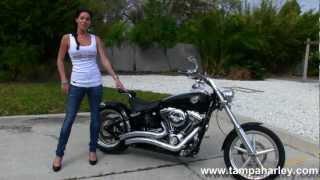 Used 2009 Harley-davidson Fxcwc Rocker C