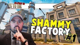 7 Days To Die Alpha 18 | Agility Build | Shammy Factory #1